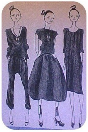"""""""luxurious clothes with a restrained elegance."""""""
