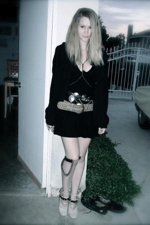 American Apparel shirt - Random Target Blouse blouse - Zara belt - Chloe shoes