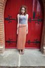 Maxi-miss-selfridge-skirt-bralet-new-look-top-new-look-sandals