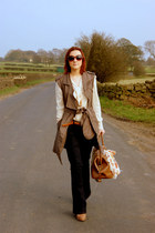 next jeans - All Saints jacket - Topshop bag - asos blouse - next belt - Topshop