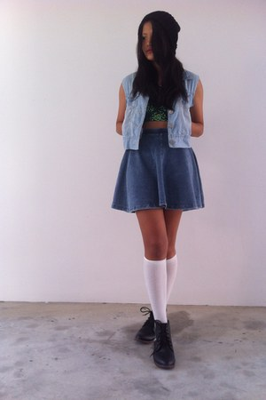 Topshop top - Topshop skirt