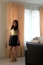 H&M top - Vincci shoes - skirt