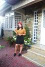 Black-forever-21-shoes-mustard-forever-21-shirt