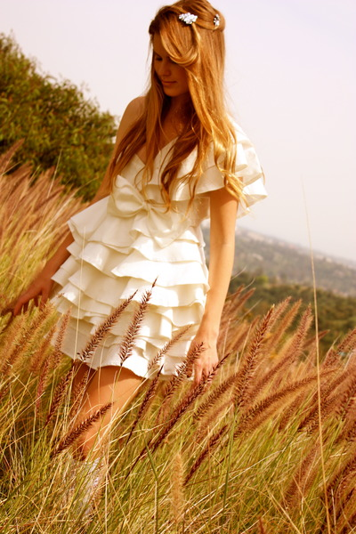 white I made it dress