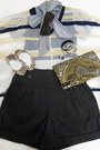 Navy-striped-collar-forever21-blouse-dark-brown-beaded-forever21-purse
