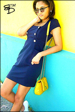 Forever 21 dress - Keds shoes