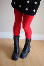 Black-soda-boots-black-wool-vintage-dress-red-we-love-colors-tights