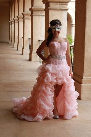 bubble gum Maggie Sotero dress