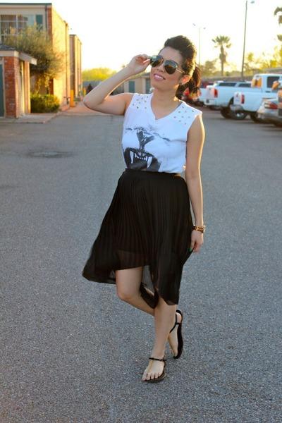 Forever 21 shirt - Forever21 skirt