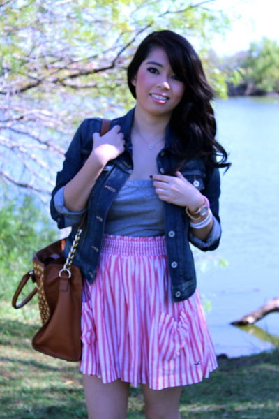 UrbanOG boots - hollister dress - Michael Kors purse