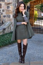 Gryphon New York cape - knee-high boots Michael Kors boots