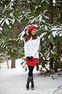 Hunter-boots-whitehouseblackmarket-jacket-topshop-skirt