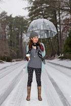 Burberry boots - Alexander McQueen scarf - Joie top - David Yurman necklace