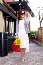 tory burch cardigan - G-Got dress - Prada bag