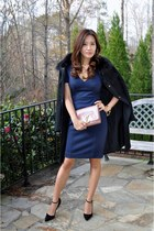 bvlgari ring - Manolo Blahnik shoes - Prada dress - Giuliana Teso jacket