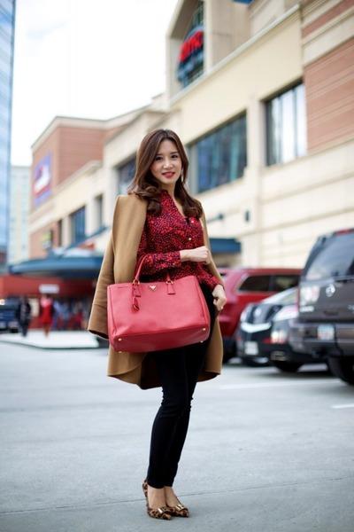 554c4d42b7c ... sale prada bag tory burch shoes pauw coat juicy couture blouse vince  pants a3f07 2381f