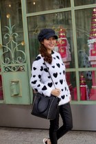 polka dot Robbi & Nikki sweater - vince pants