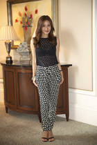 Twenty Tees top - Joie shoes - RED valentino pants