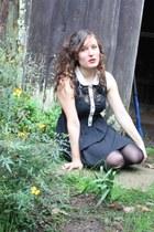 black Valleygirl dress