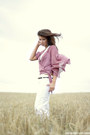 White-reserved-pants-white-camaieu-top-light-pink-dorothy-perkins-blouse