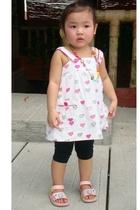 Zara top - baleno leggings - florsheim shoes - Gingersnaps necklace