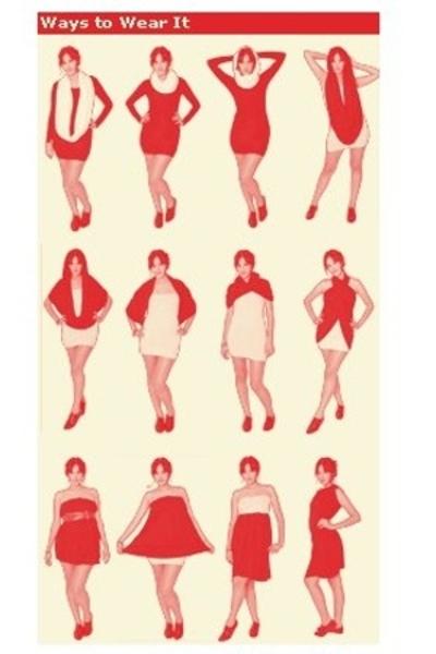 платье-трансформер -- как сшить?