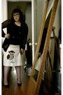 Black-rodarte-for-target-cardigan-black-forever-21-shirt-yellow-skirt-blac