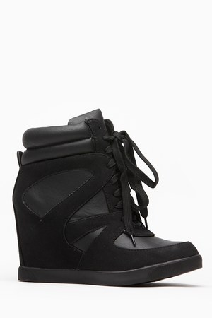 black cicihot sneakers