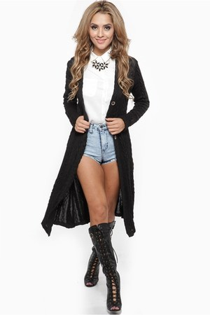 black cicihot cardigan
