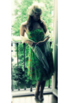chartreuse Ralph Lauren dress