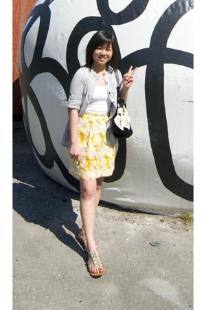 Talula top - Urban Outfitters top - Forever21 skirt - Juicy Couture accessories