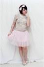 Vtg-sweater-forever-21-skirt-mossimo-heels