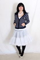 Forever 21 cardigan - vintage skirt