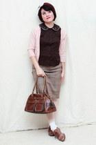 bronx shoes - Limited blouse - elle cardigan