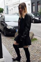 Bershka jacket - H&M Trend skirt