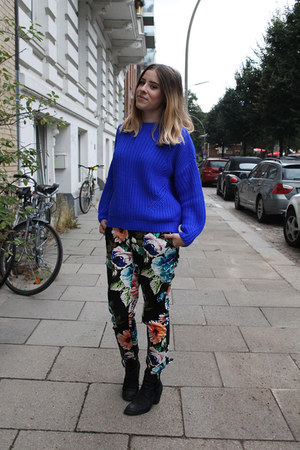 Pull and Bear jumper - H&M pants