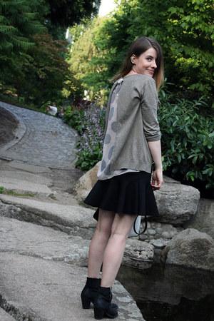 Promod sweater - H&M Trend skirt