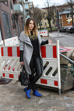 asos boots - Zara sweater