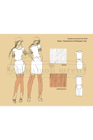 self-design dress