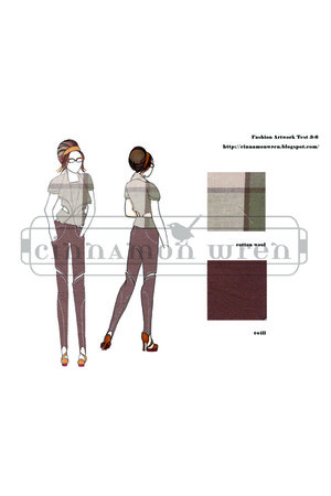 self-design pants - self-design top