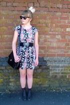 floral Dahlia dress