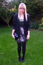 black Jaques Vert blazer - black via ebay asos shoes