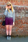 Heather-gray-brogues-next-shoes-heather-gray-vintage-shirt-black-jane-shilto