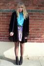 Black-velvet-vintage-coat-floral-river-island-skirt-turquoise-blue-vintage-b