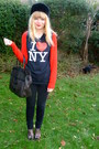 Forever-21-cardigan-red-h-m-cardigan-random-top-black-topshop-jeans-love