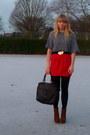 Forever-21-cardigan-topshop-t-shirt-forever-21-skirt-dahlia-belt-bamboo-
