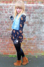 Black-studded-topshop-leggings-dark-brown-vintage-bag-black-floral-next-top-