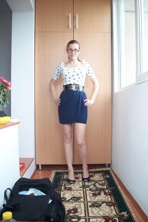 Zara blouse - Orsay skirt
