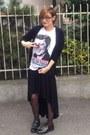 Oxfords-tosca-blu-shoes-black-zara-jacket-boyfriend-regina-shrecker-scarf