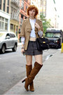 Dark-brown-zara-boots-camel-french-connection-style-by-uk-jacket